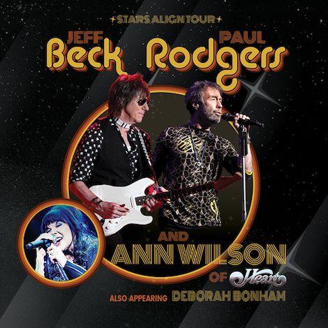 "Jeff Beck & Paul Rodgers + Ann Wilson Of Heart Announce ""Stars Align Tour"""