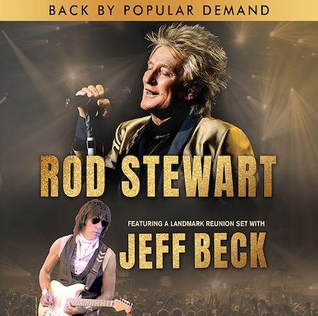 Jeff Beck Will Join Rod Stewart For Landmark Reunion Set