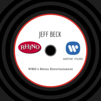 Jeff Beck Re-signing with WMG's Rhino Entertainment