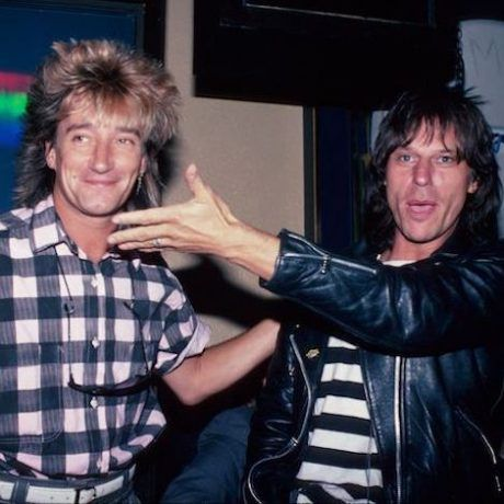 Flashback: Rod Stewart & Jeff Beck's Surprise Reunion